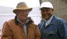 George Foreman and Koos Hassing